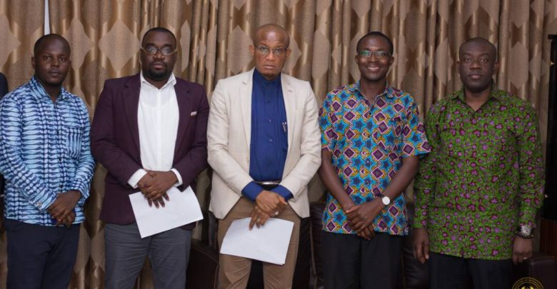 iWatch Africa meets Ghana Minister of Information, Mustapha Hamid and Deputy Minister Kojo Oppong Nkrumah