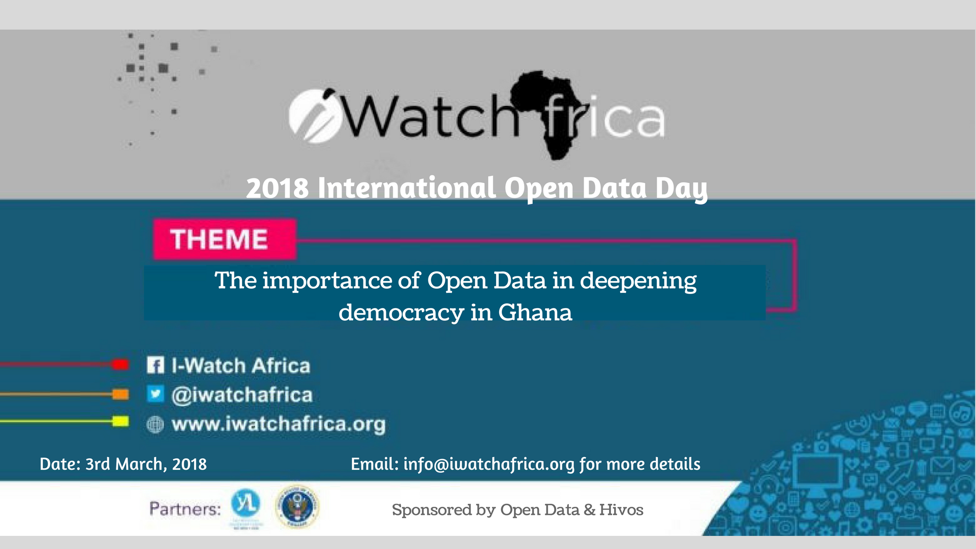 Register for the 2018 International Open Data Day Conference