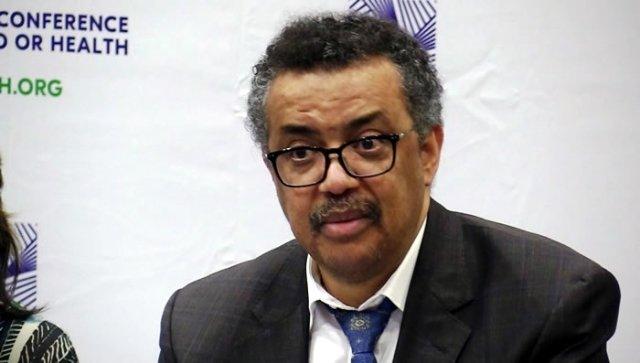 Dr. Tedros Adhanom, WHO