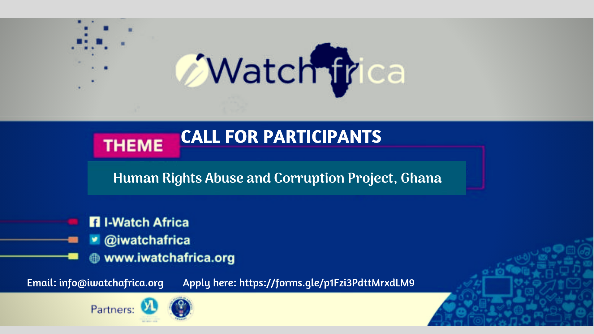 iWatch Africa call for participants