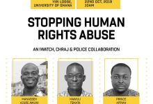 Manasseh Azure Awuni, Prince Appiah, Mawuli Tsikata- iWatch Africa's Human Rights Abuse and Corruption Project.