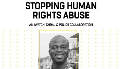 Photo of Manasseh Azure Awuni, Facilitator- The Human Rights Abuse & Corruption Project