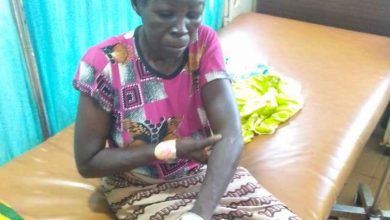 Photo of Woman accused of witchcraft almost killed by angry mob in Karaga