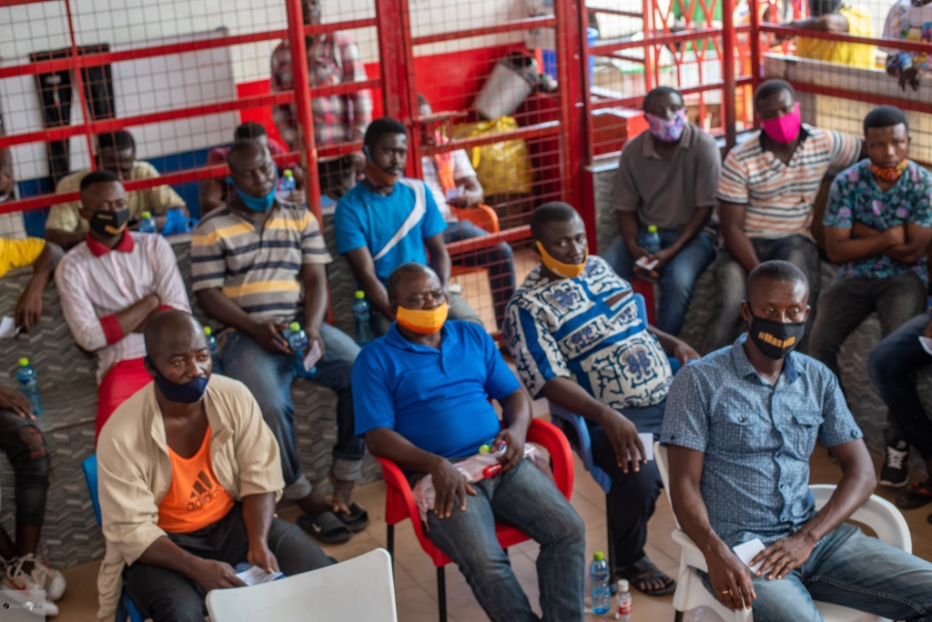 Cross section of participants during iWatch Africa's town hall meeting