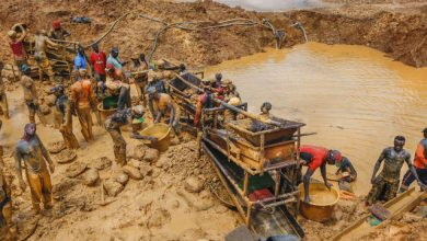 Photo of Small-scale gold production dropped by only 6% in 2017 despite ban
