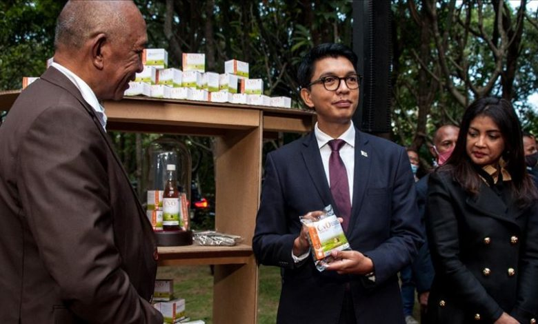 Madagascar's president endorses herbal drink to combat COVID-19