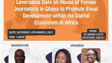 Photo of Open Data Day 2021: iWatch Africa to focus on safety of women journalists & equal development online